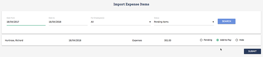 Import Expenses